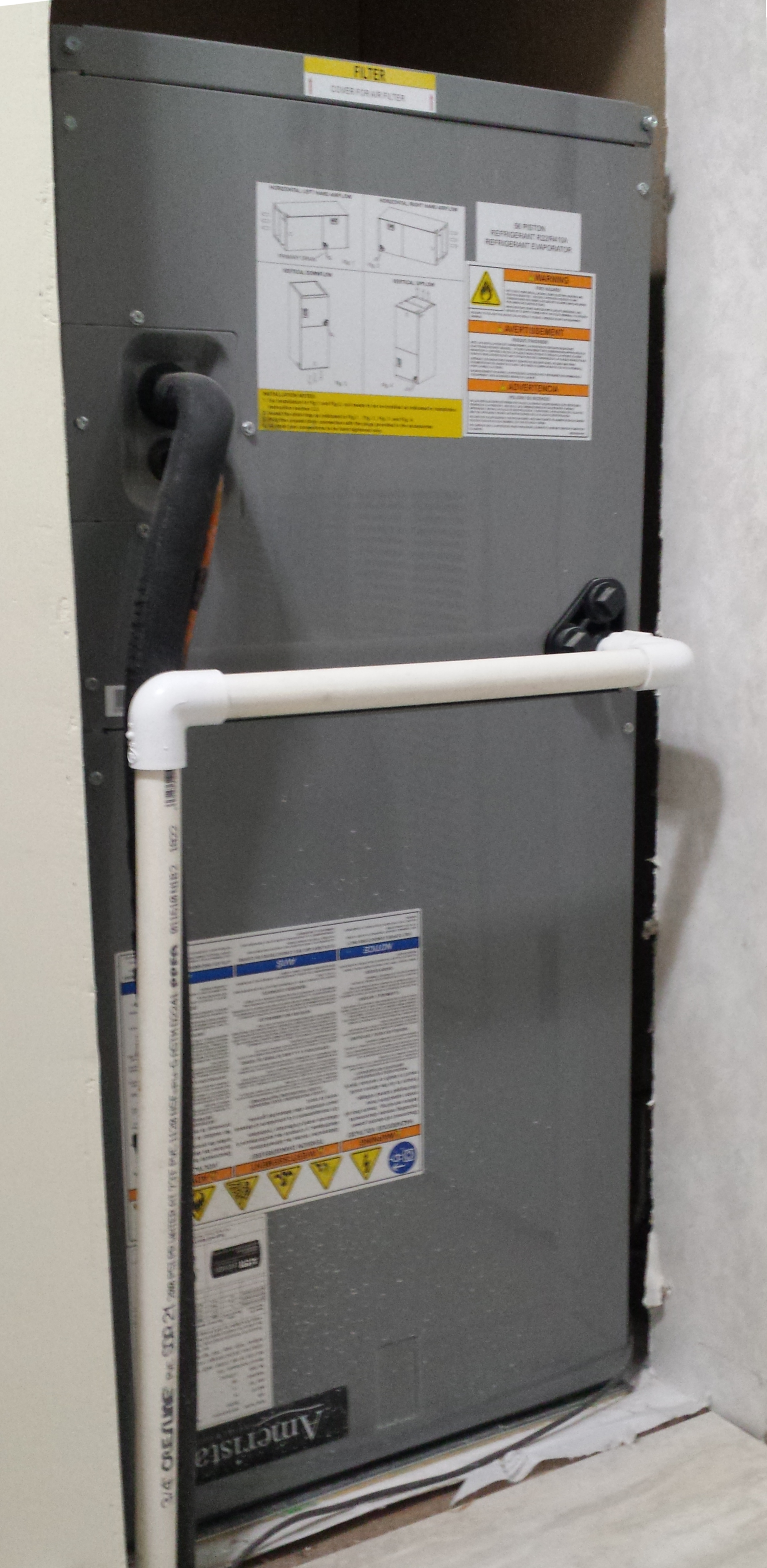 Interior Heat Pump Air Handler Unit